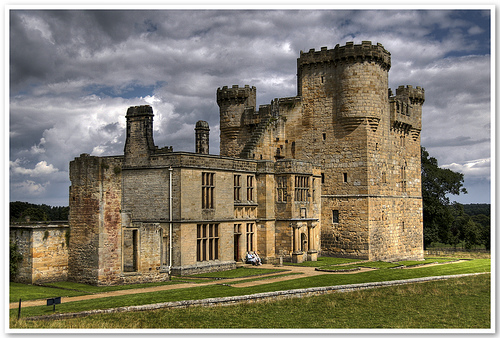 Belsay-castle